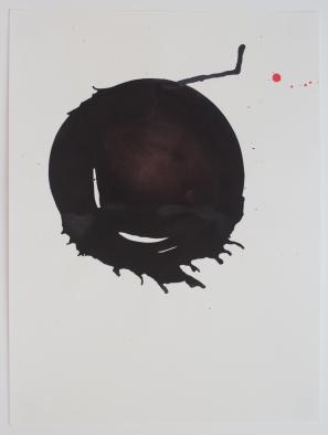 2013. Encre de Chine sur papier à aquarelle. 152 x 114 cm / 60 x 45 pouces. . Photo: Nélanne Perron-Racine